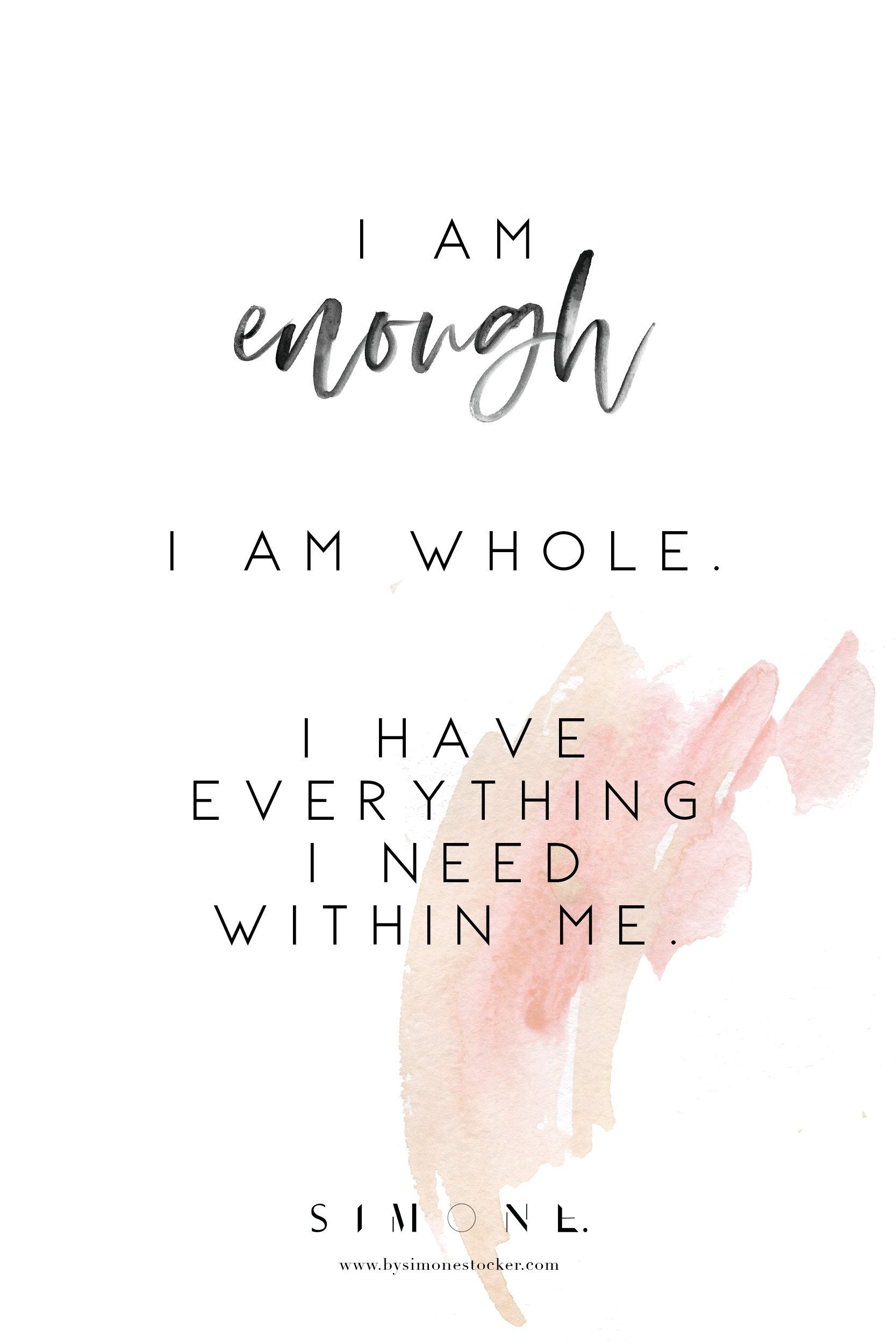 16 powerful affirmations that strengthen your self worth
